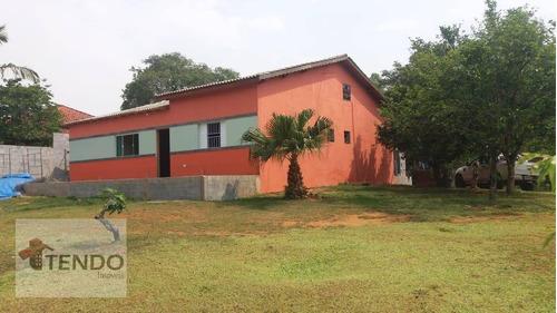 Imagem 1 de 30 de Imob03 - Chácara 5000 M² - Venda - 4 Dormitórios - 2 Suítes - Ipelândia - Suzano/sp - Ch0014