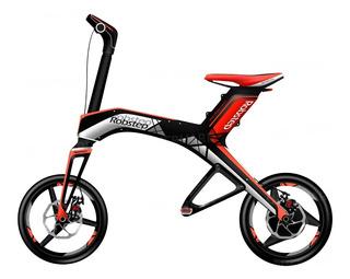 E-bike Robstep X1 4.4ah Bici Plegable Eléctrica Bluetooth