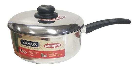 Cacerola Aluminio C/ Mango 20 Cms Ramos