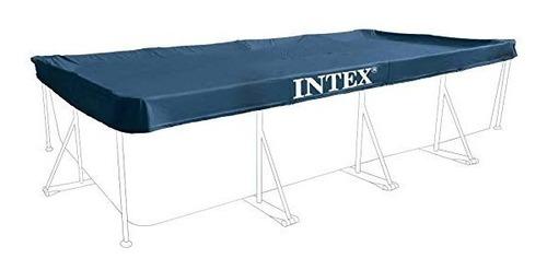 Cubierta Rectangular 3 X 2 M  Albercas Intex Armable