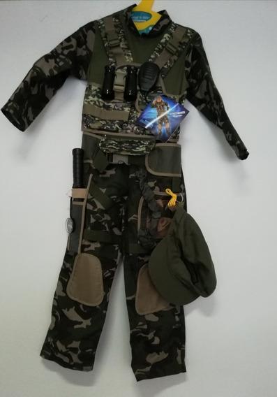 Disfraz De Militar Fuerzas Especiales Con Accesorios Importa