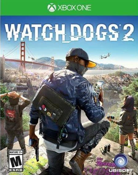 Watch Dogs 2 - Xbox One Codigo 25 Digitos
