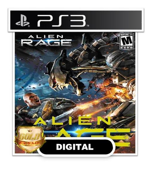 Alien Rage Ps3 Psn Midia Digital Envio Hoje Rapido Jogos Psn