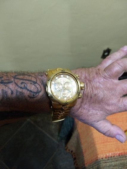 Relógio Invicta Dourado Venom Mod 14504