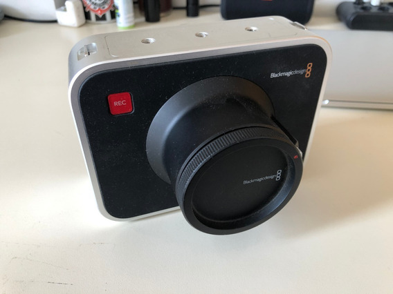 Camera Blackmagic 4k Com Bocal Canon