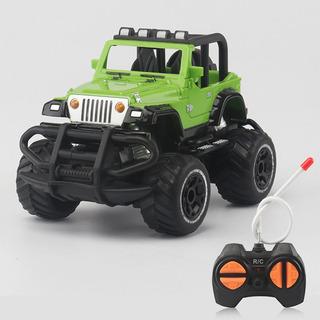 1:43 Mini Rc Todoterreno 4 Canales Modelo Vehiculo Verde