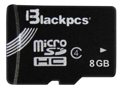 Blackpcs Memoria Micro Sd 8gb Blackpcs Cl4  Sin Adaptador