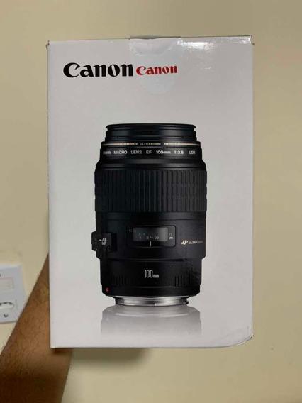 Lente Canon Efs 55-250mm Nova.