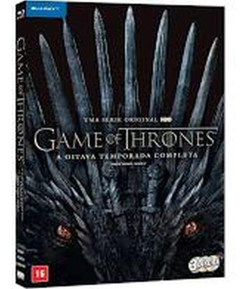 Blu-ray Box - Game Of Thrones - 8ª Temporada Completa