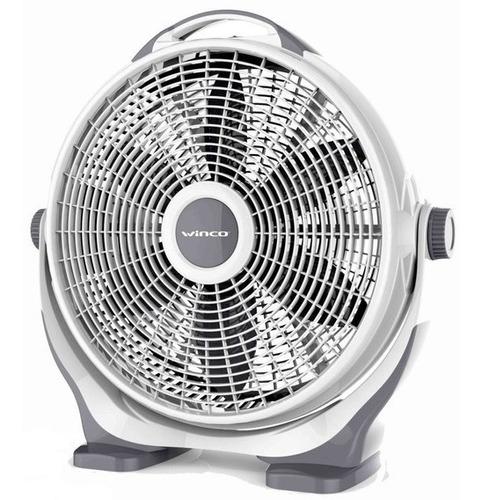 Ventilador Turbo Winco De Piso 20 Pulgadas 90w 3 Vel W24ia