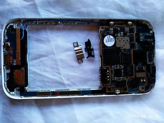 Placa Completa Do Galaxy S4 Gt-i9505 Leia A Discrição.