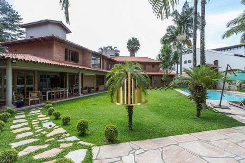 Casa Com 5 Dormitórios Sendo 4 Suítes À Venda, 630 M² Por R$ 4.500.000 - Alphaville 02 - Barueri/sp - Ca2826
