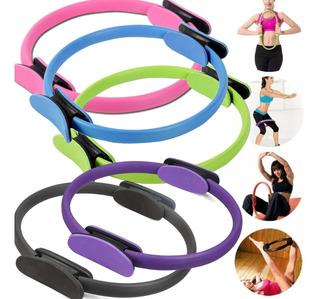 Anel Tonificador Arco Pilates Yoga Flexível Fitness Colorido