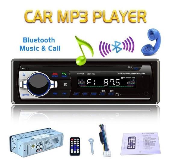 Auto Estero 1din Bluetooth / Fm / Mano Libre Uiversal