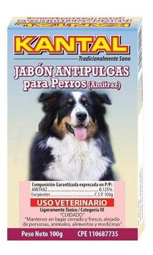 Imagen 1 de 4 de Jabón Antipulgas Para Perros (amitraz) Kantal