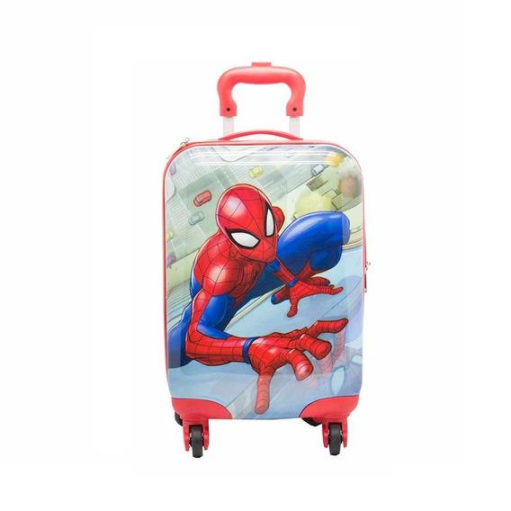 Valija Spiderman De Mano Infantil Hombre Araña 17 Cabina