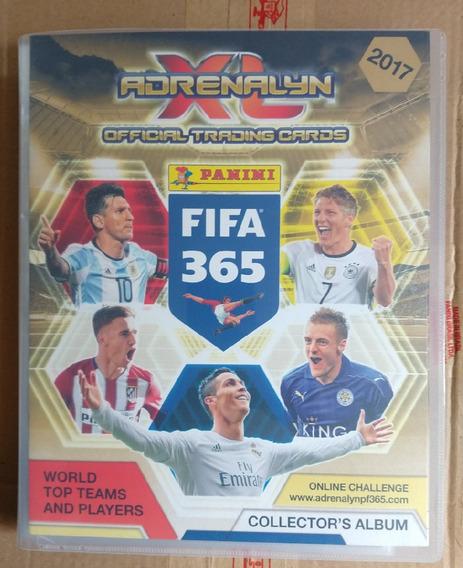 Album Binder Adrenalyn Xl Fifa 365 2017 Com 240 Base Cards