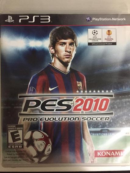 Jogo Pro Evolution Soccer 2010 Ps3 Pes10