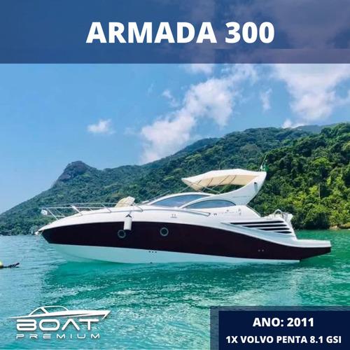 Armada 300, 2011, 1x Volvo Penta 8.1 Gsi - Real Raptor