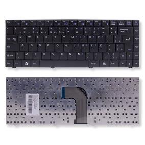 Teclado P/ Notebook Qbex 82b382-fp9100 Abnt2 - Wi-fi No F11