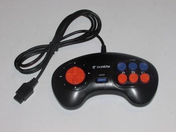 Controle Turbo Teqniche Para Mega Drive