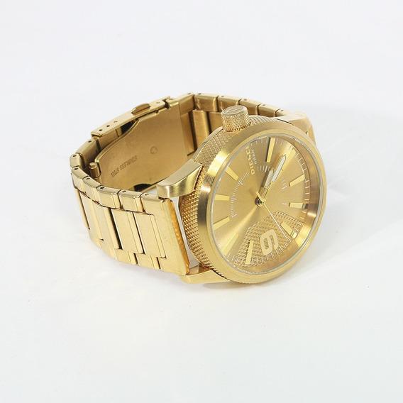Reloj Diesel Dorado Dz1761 Para Caballero Original
