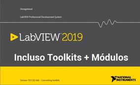 Ni Labview 2019 V19.0.0 Completo + Toolkits + Módulos