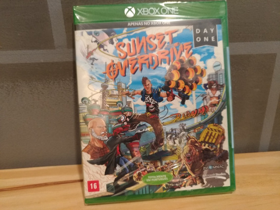 X Box One - Sunset Overdrive - Lacrado - Total Pt Br
