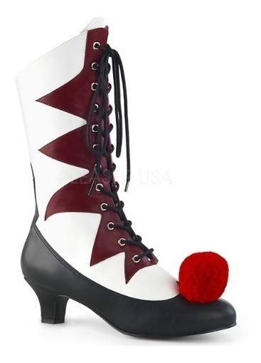 Botas Zapatos De Payaso It Pennywise Arlequin Para Damas 1