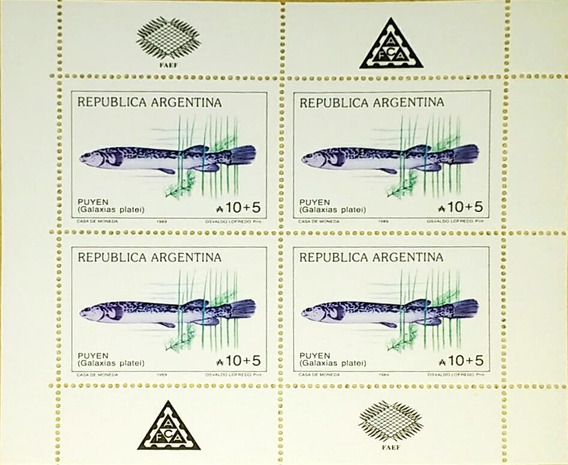 Peces De Lagos Patagonicos, Hojitas Mint