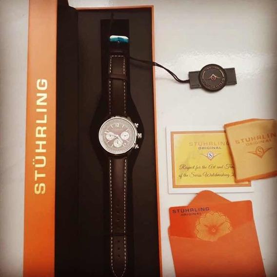 Relógio Stuhrling Suíço Novo Na Caixa