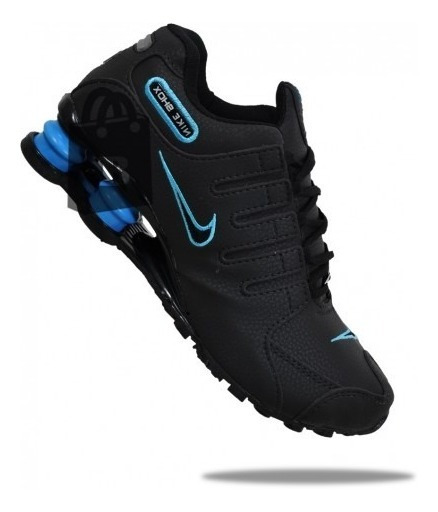 Tênis Shox Nz Nike Original Kit C /2 Pares De Meias