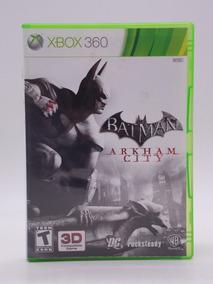 Batman Arkham City Xbox 360 Original Mídia Física