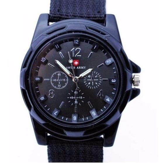Relógio Suíço De Luxo Quartz (masculino) - Frete Grátis