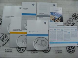 Kit Completo Manual Proprietário Saveiro G6 Vw Novo Lacrado