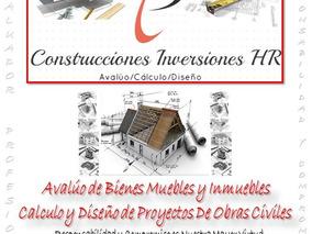 Avaluo Bienes Muebles E Inmuebles, Diseño Proyectos Civiles