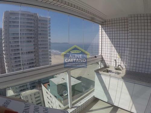 Imagem 1 de 30 de Frente Mar ,lazer Completo, Mobiliado...andar Alto, Não Perca!! - Vant4916