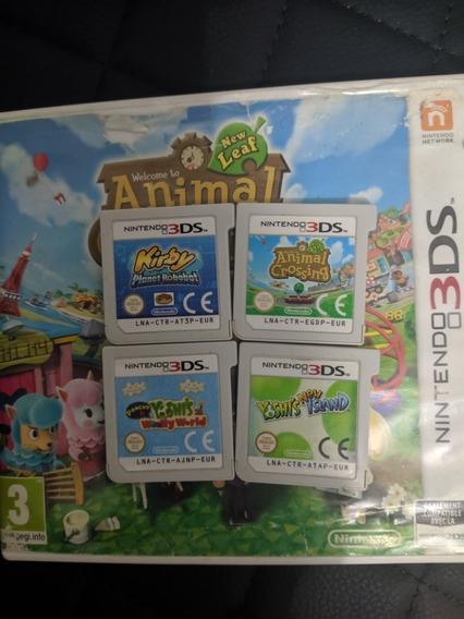 Kirby Yoshi Os 2 Animal Crossing 3ds Física Original Eur