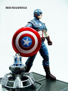 Capitán América Marvel Select Avengers Spiderman Ironman