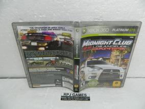 Midnight Club Los Angeles Midia Fisica Completa Xbox 360