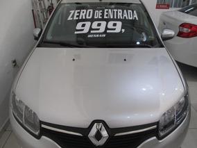 Renault Sandero 1.6 Motor Novo Zero De Entrada + 60 X 999,00