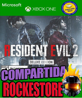 Resident Evil 2 Remake Deluxe Xbox One Online Y Offline