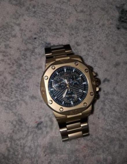 Relógio Ferrari Dourado