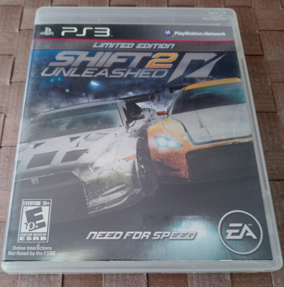 Game Ps3 Original Need For Speed Shift 2 Unleashed Limited