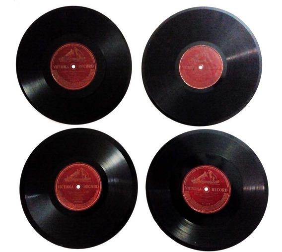 Discos Lp Gramofone Gravado 1 Lado 78 Rpm Enrico Caruso