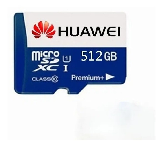Cartão De Memória Micro Sd 512gb Huawei + Leitor De Cartão