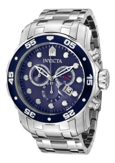 Reloj Invicta Pro Diver Acero Inoxidable, Azul 0070 Garantia