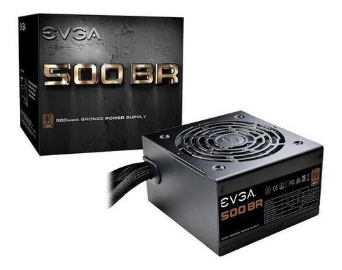 Power Supply Evga 500 Br, 80+ Bronze 500