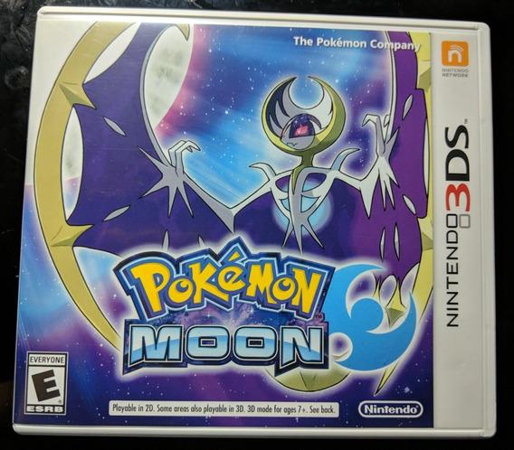 Pokémon Moon - Mídia Fisica - 3ds