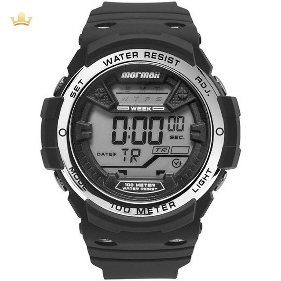 Relógio Mormaii Masculino Mo3500b/8k Com Nf